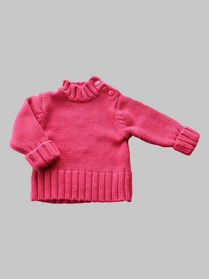 Pull fille 6 mois <br> TEX 0
