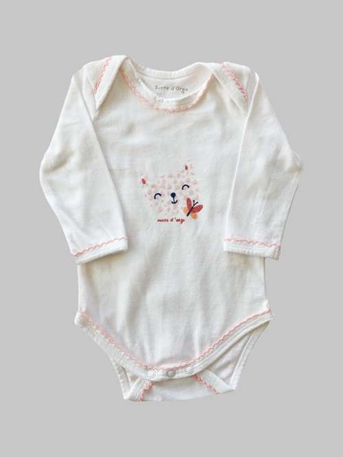 Body ML fille 3 mois <br> SUCRE D'ORGE