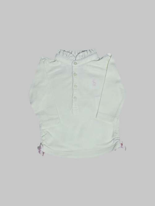 Polo ML fille 3 mois <br> RALPH LAUREN