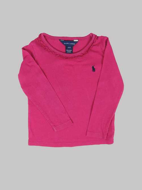 Tee-Shirt ML fille 2 ans RALPH LAUREN