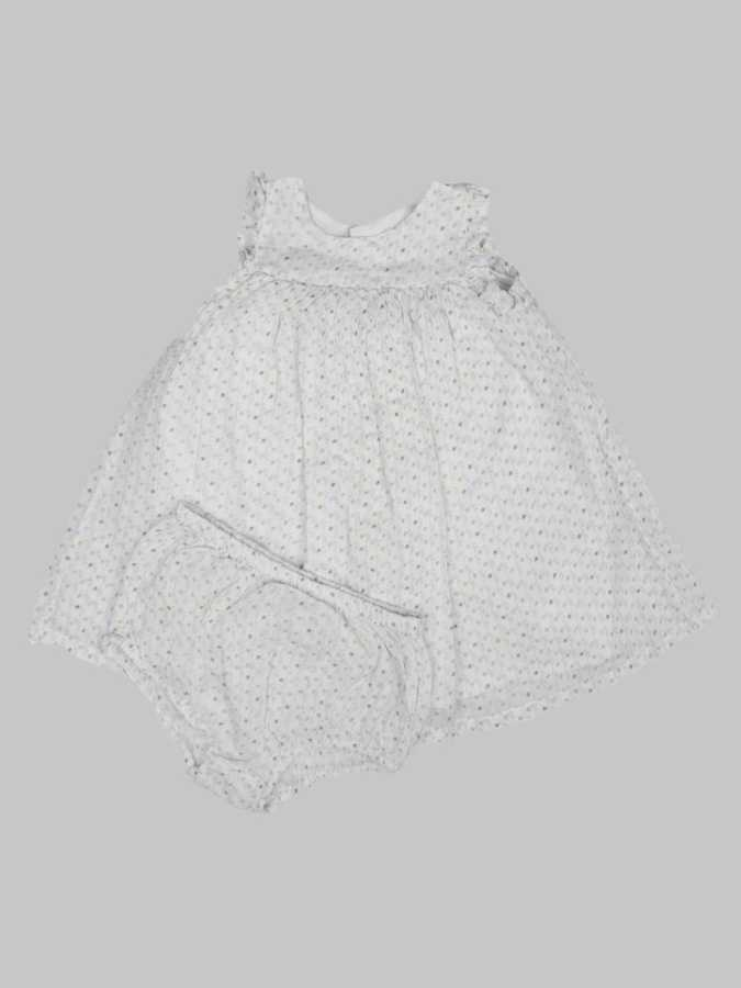 Robe/Bloomer fille 3 mois <br> BOUT'CHOU 0