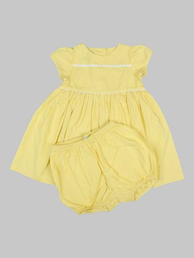 Robe/Bloomer fille 6 mois <br> CYRILLUS 0
