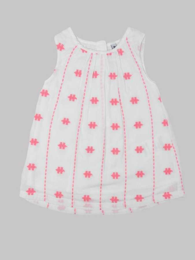 Robe fille 3 mois <br> MARQUE INCONNUE 0