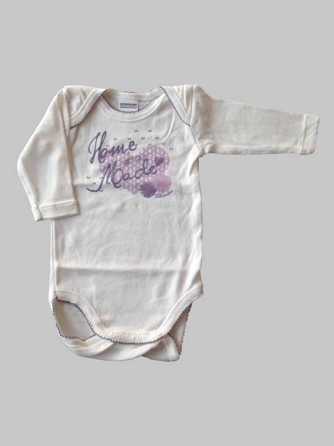 Body manches longues fille 3 mois <br> ABSORBA 0