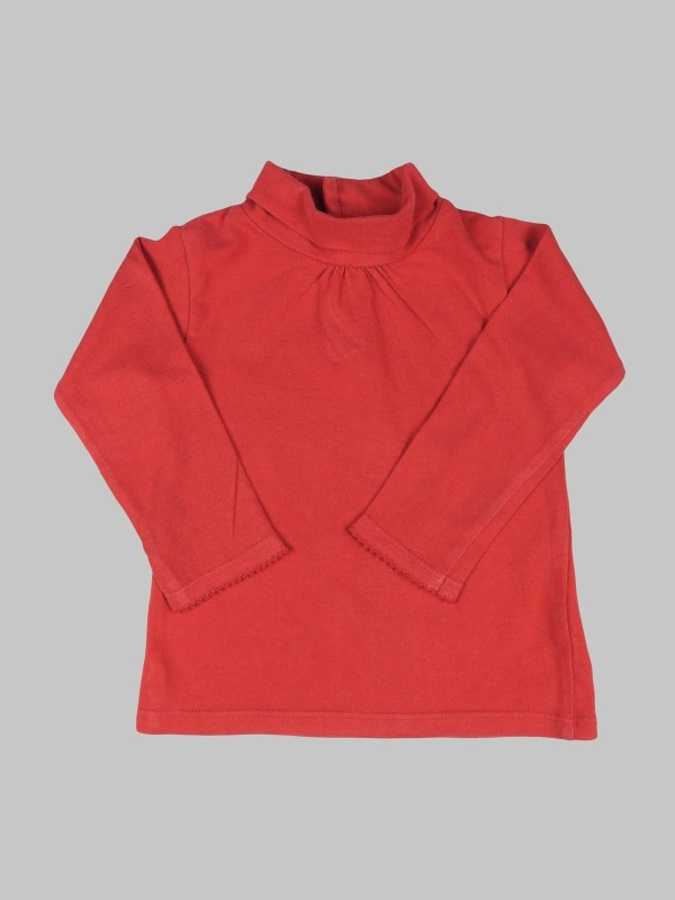 Tee shirt manches longues fille 12 mois <br> DPAM 0