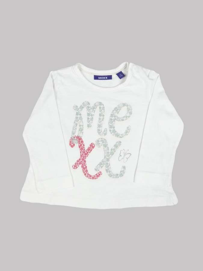 Tee shirt manches longues fille 6 mois <br> MEXX 0
