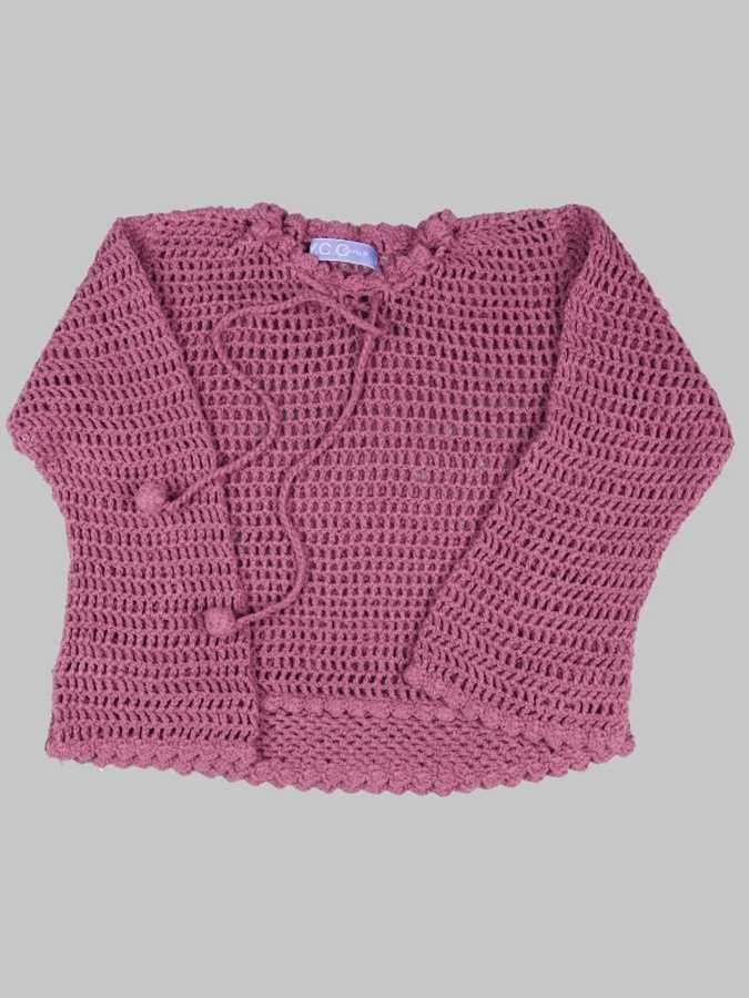 Pull fille 3 ans <br> YCC 0