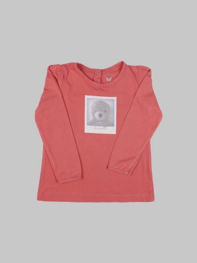 Tee shirt ML fille 2 ans <br> BOUT'CHOU 0