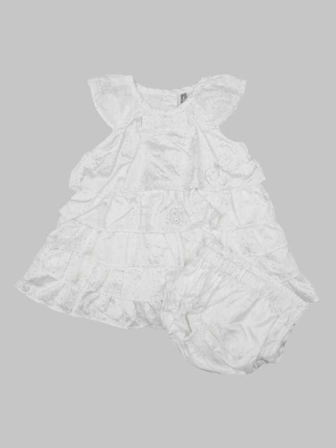 Robe et bloomer fille 6 mois <br> ORCHESTRA 0
